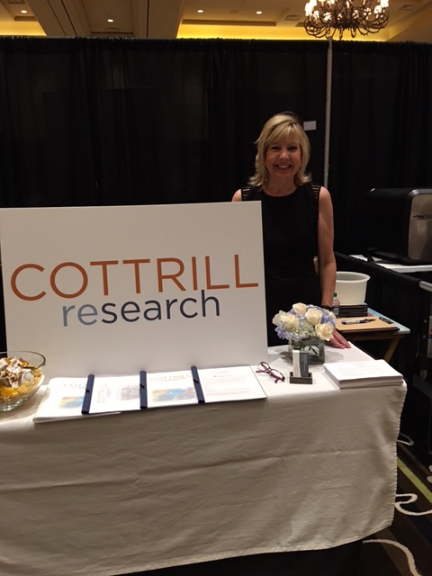 Cottrill Research's Very First Expo Booth!